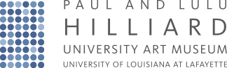 Paul & Lulu Hilliard University Art Museum logo